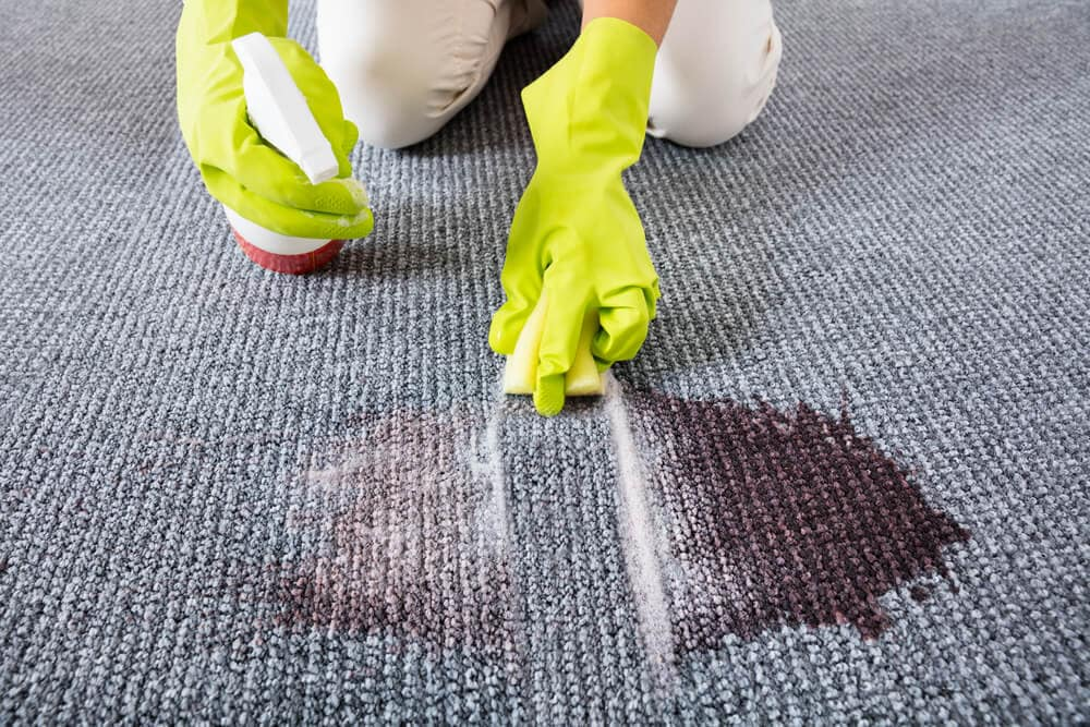 How to Remove Ink Stains from Carpet by Using Hydrogen Peroxide with Dish Soap.