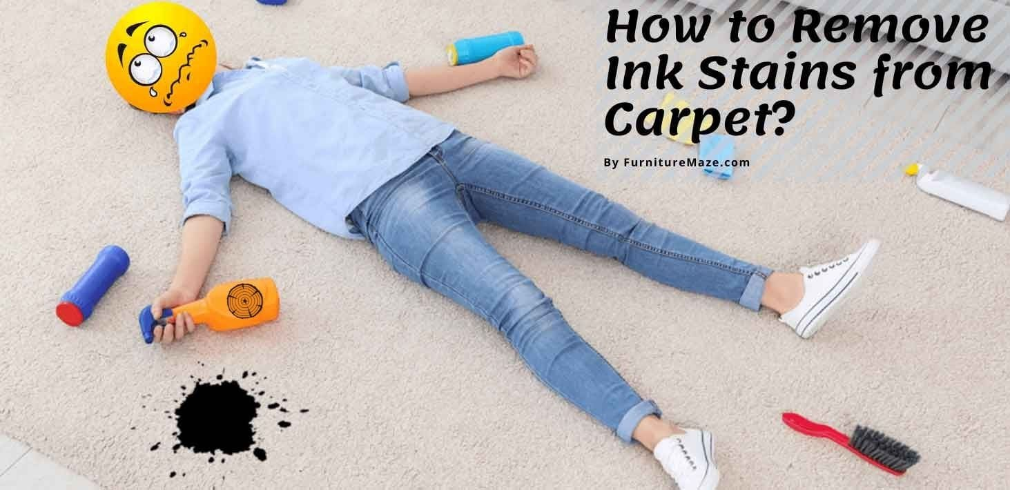 How to Remove Ink Stains from Carpet