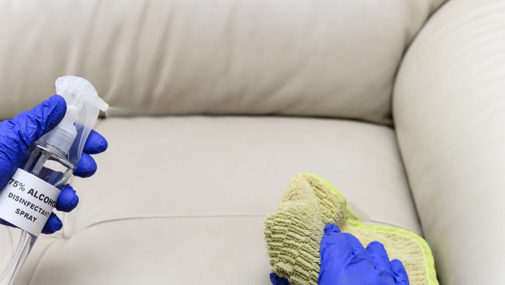 How to Remove Ink Stains from Fabric Sofa Using Alcohol