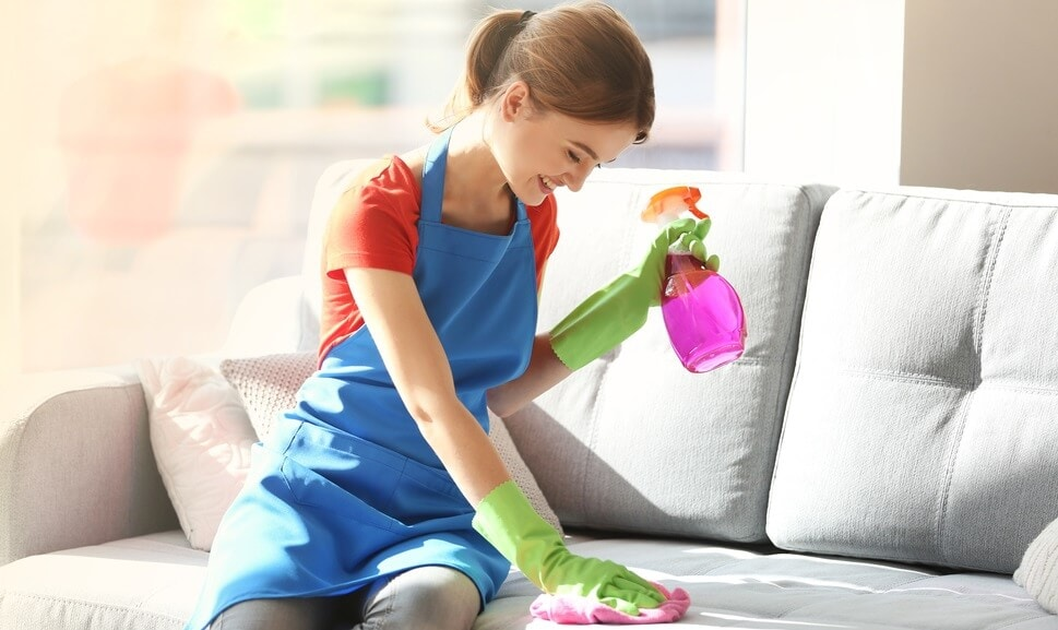 How to Remove Food Stains from Fabric Sofa Glass Cleaner