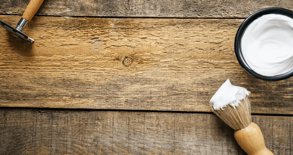 Remove Ink Stains from Wood with Shaving Cream