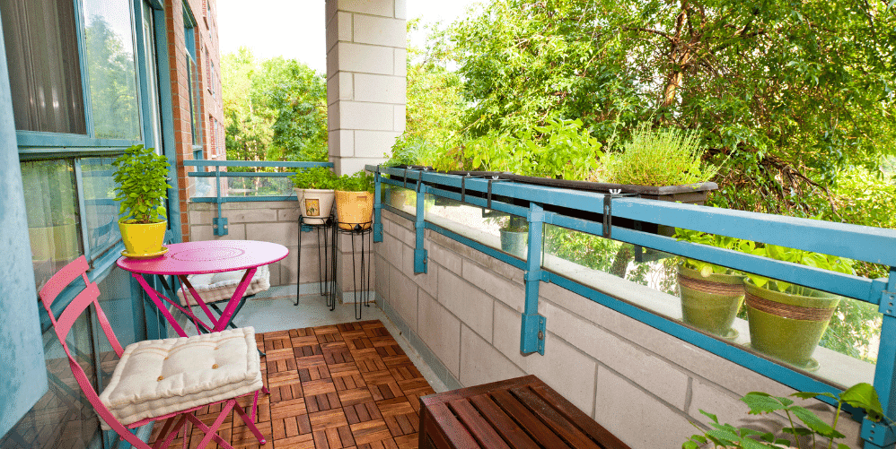 Balcony as Outdoor Living Space