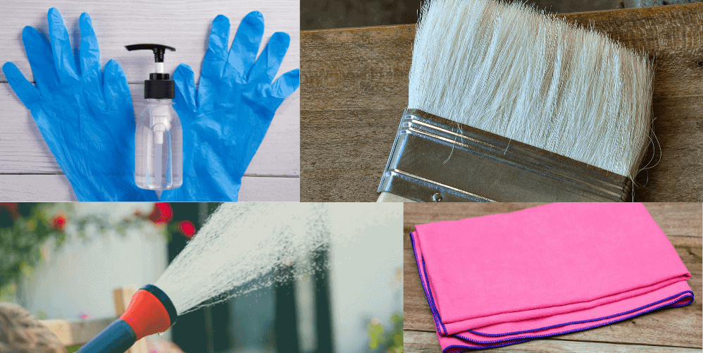 Necessary Equipment for Cleaning Cast Aluminum furniture