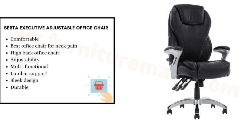 Serta Executive Adjustable Office Chair
