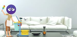 How to Clean White Leather Sofa Stains