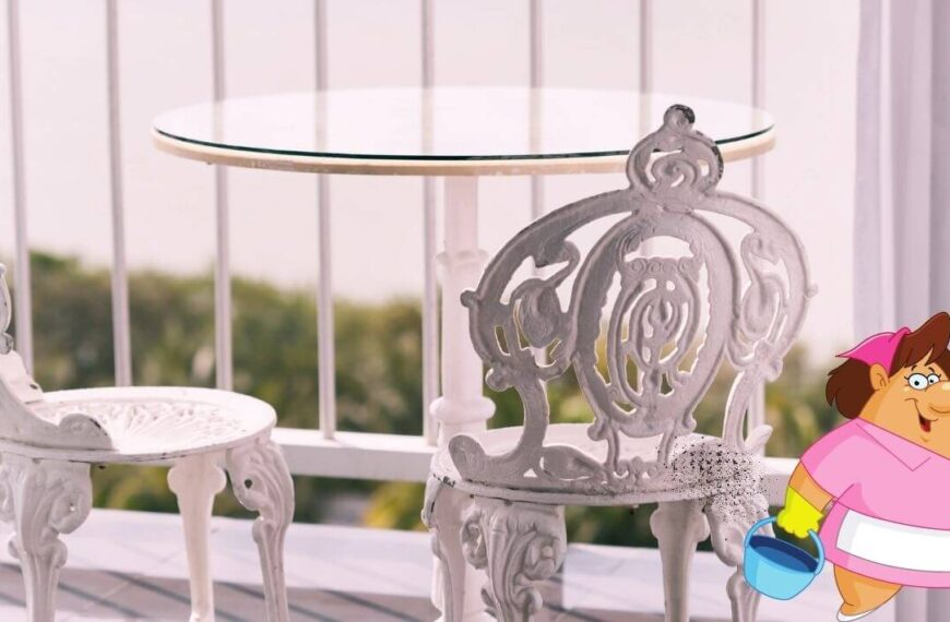 How to Clean Wrought Iron Patio Furniture: 9 Painless Steps